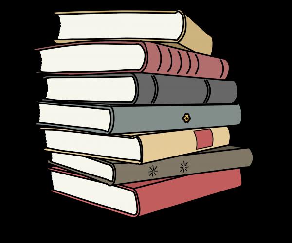 boeken tekening